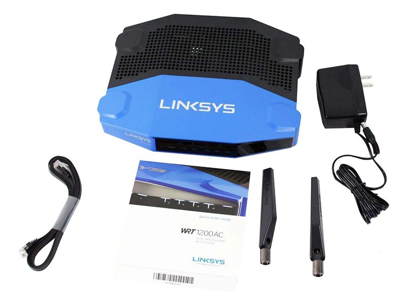 LINKSYS WRT1200AC DUAL-BAND GIGABIT Wi-Fi ROUTER